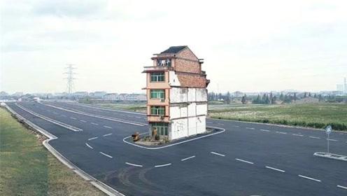 日本最牛的钉子户,耸立在机场跑道中间,连飞机都得绕着走!