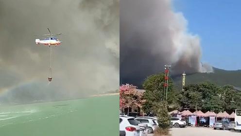 广东佛山山火持续24小时!附近工厂紧急停工,全区疏散960人