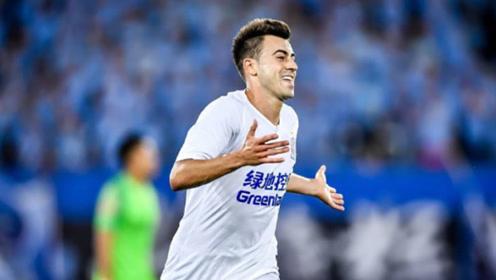 沙拉维天神下凡!足协杯2场踢进4球,助上海申花逆转夺冠