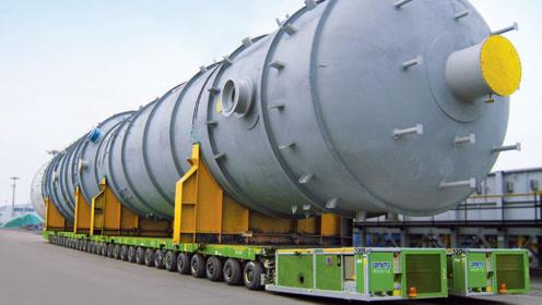 """全球""""最强""""运输车有多霸气?轻松负载15000吨,司机月薪30万!"""