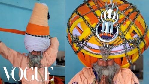 印度男人为什么在天气极其热的时候还不把头巾摘掉?看完明白了