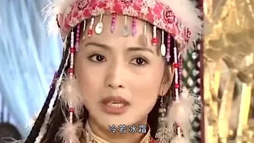 新旧还珠:香妃引蝶时,一个美丽似天仙,一个却似街头烤串!