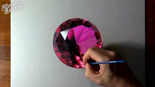 """油管大神告诉你,一颗精美绝伦的钻石是怎样""""炼""""成的!"""