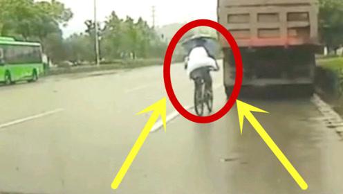 男孩放学路上发生意外,要不是被拍下,父母都不知道经历什么?