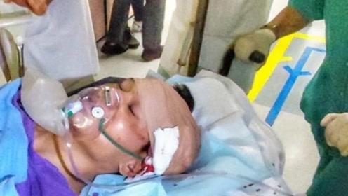 一天两起! 香港正午再发生持刀砍人事件 男子头部及手脚均被砍伤