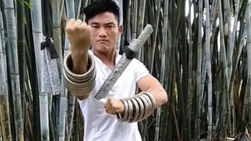 """90后小伙沉迷武术,15年练成传说中的""""铁线拳"""",网友:高手在民间"""