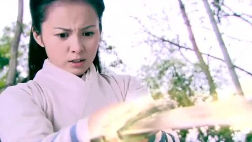 侠女天赋异禀,父亲都没有练成斩妖剑,她竟可以人剑合一