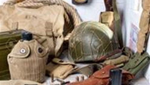 二战时美军步兵最低负重33公斤,那么他们到底带了些啥?