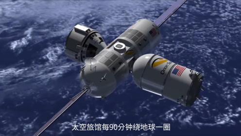 国外推出首家太空旅馆,一天能看16次日出,6000万一次谁住得起?