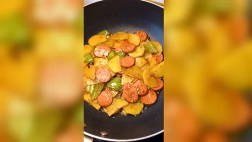 土豆这样子做,超级好吃,每天都想吃,太好吃了