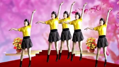 时尚还好学!广场舞《坦坦荡荡活人间》,经典的32步舞蹈