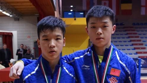 国乒迎来好消息!16岁天才小将连克日本队,被称小张继科