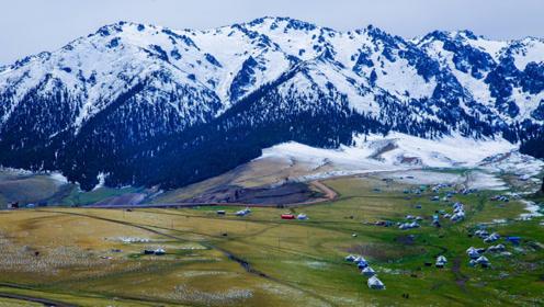 新疆这座神山美得逆天,被人膜拜了3000年,每年很多人去探险