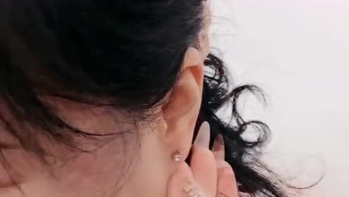一次性环保卫生的穿耳器!买回来自己给自己打耳洞