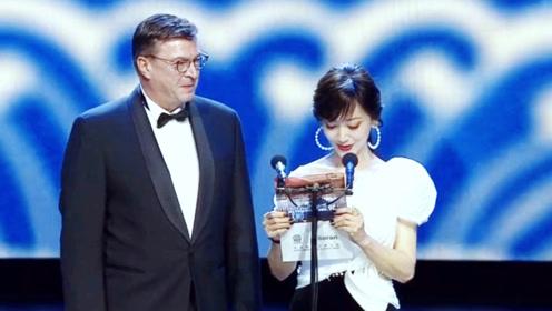赵雅芝第26届华鼎奖颁奖现场, 女神真的太美了