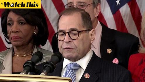 美国众议院宣布对特朗普的弹劾条款 分别为滥用权力和妨碍国会