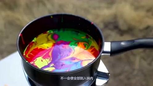 把指甲油放锅里煮,结果竟是这样,没想到场面如此震撼!
