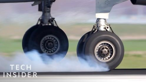飞机轮胎为什么不会爆胎?汽车却用不了,今天可算看明白了