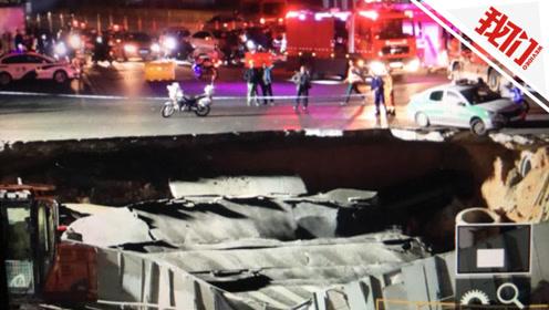 厦门坍塌点系两地铁线路交汇处附近 其中一条上月刚通过验收