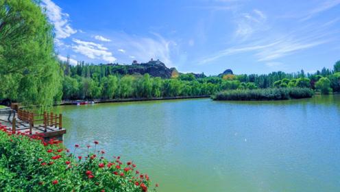 """新疆有个小江南,被誉为""""塞外第一胜景"""",一眼望去景色太美了"""