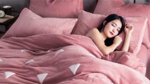 """""""裸睡""""能给女性带来多大的好处?别不在意,越早知道对健康越好"""