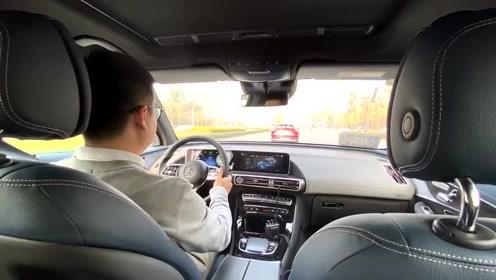 体验纯电SUV奔驰EQC后排空间丨道道的Vlog