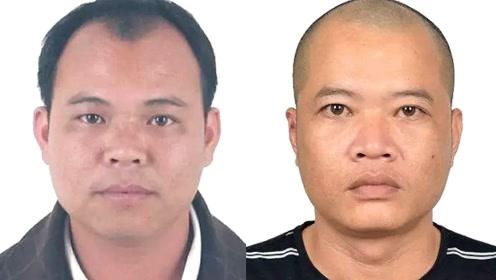 两名刑事案件在逃嫌疑人照片曝光!警方重金公开悬赏缉捕