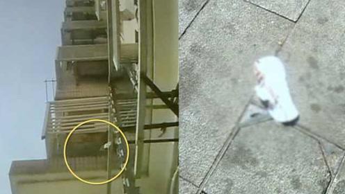 小区高空抛物还有卫生巾飘落,物业呼吁人人监督:发现就报警