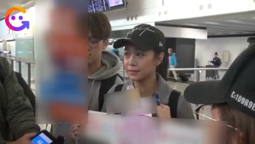 黄心颖消失8个月返回香港,强装柔弱痛哭落泪,对许志安事件不做回应