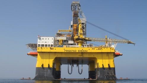 """我国""""全球""""领先的海上巨无霸,重4万多吨,可钻入海底15250米!"""