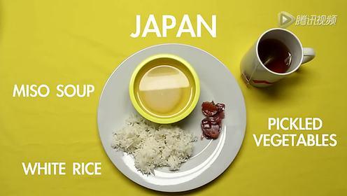 趣问 各国早餐你比较中意哪一盘?