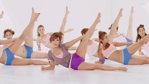 瘦大腿最快的方法 来跟郑多燕一起减腿