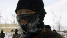 新疆阿勒泰消防耐寒训练