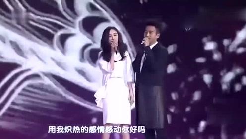 杨幂刘恺威早年跨年合唱,杨幂罕见在镜头前落泪
