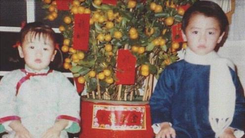 谢霆锋和妹妹温馨合影曝光 童年的谢霆锋和大儿子一模一样