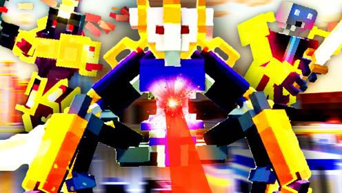 屌德斯解说 机器人大乱斗 全新模式 机器人变身铠甲勇士