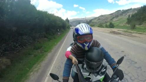 南极学前班——摩托骑行马丘比丘