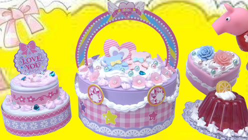 小猪佩奇手工创意diy蛋糕