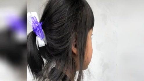 邓超为小花妹妹扎头发 被称赞梳是得最好看的