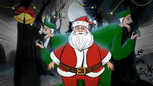 史上第一位圣诞老人竟然如此惊悚
