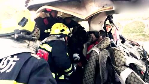 吉林突发车祸7人不幸死亡!官方货车司机强行超车导致 已被刑拘