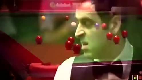 奥沙利文你有考虑过球的感受吗?发力要不要这么狠!