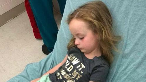女童瘫痪原因成谜 直到妈妈在她头发里发现这个