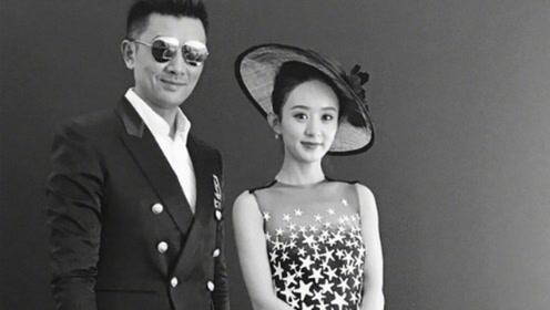 赵丽颖和经纪人黄斌合影画面养眼 力破解约传闻