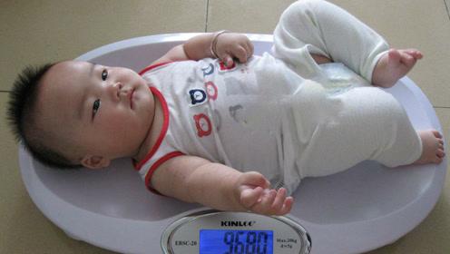 婴儿喂养不当,当心造成宝宝超重,影响宝宝健康成长!