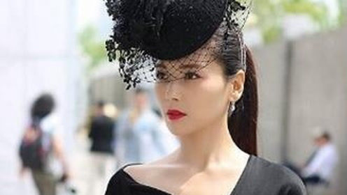刘涛新造型出街,网友:这帽子看着就很贵