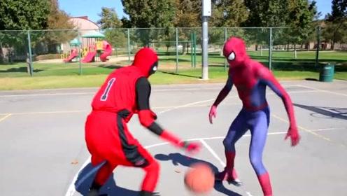 轮打球,我还是服国外,穿蜘蛛侠战衣和蚁人战衣SOLO !谁更胜一筹?
