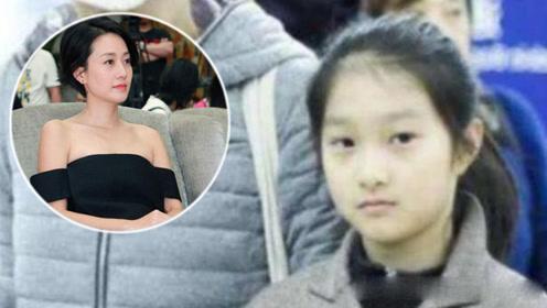 文章携马伊琍出游,10岁女儿大方露正脸,长得越来越像妈妈了!
