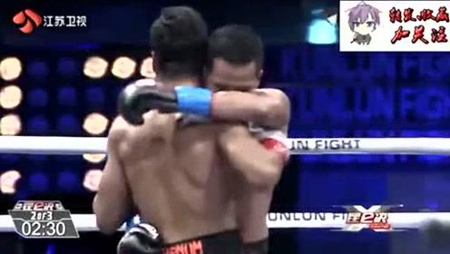 两次世界冠军现任泰拳王吊打KO播求大弟子完美躲扫踢重拳KO