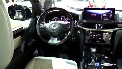 2019 雷克萨斯LX 570,打开车门看到内饰,你就知啥叫顶级豪华SUV